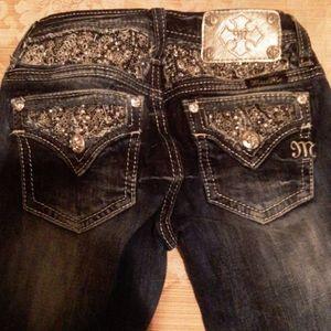 Miss Me girl Jeans bundle 2 pair size 8